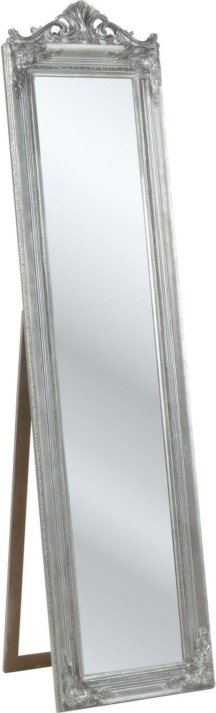 kare design staande spiegel baroque zilver 180 cm. Black Bedroom Furniture Sets. Home Design Ideas